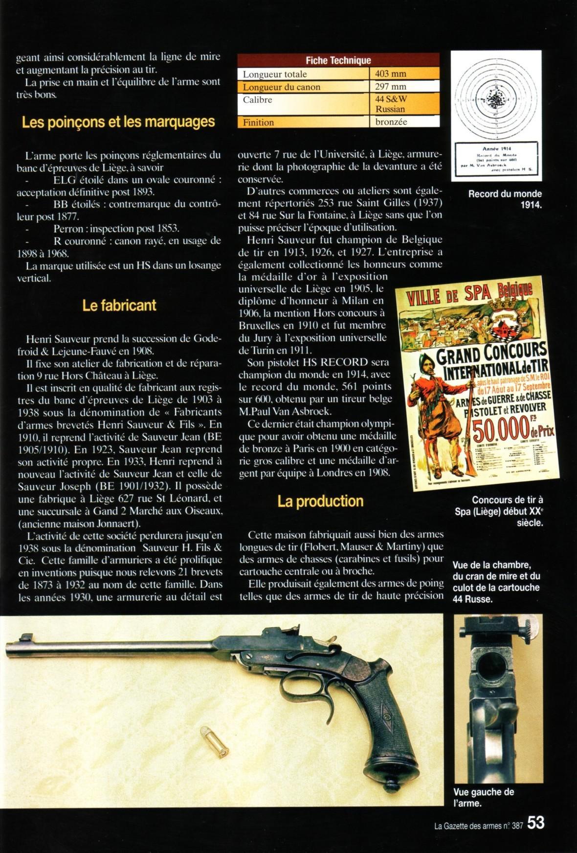 Nouvelle page 0 for Arme defense maison